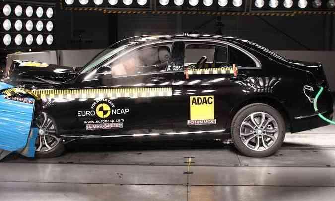 Mercedes-Benz Classe E(foto: Euro NCAP/Divulgação)